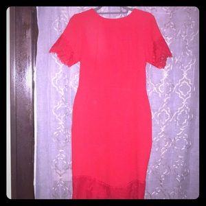 H&M Red-Hot Dress!!